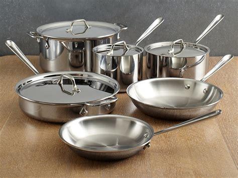 clad copper core cookware set combinated convenience