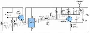 wireless water level indicator circuit diagram With plant water alarm