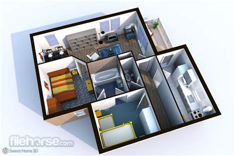 Expert Home Design 3d Gratis by Sweet Home 3d 6 0 For Windows Filehorse