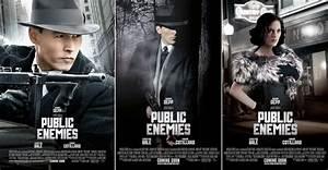 Movie Review: PUBLIC ENEMIES — GeekTyrant