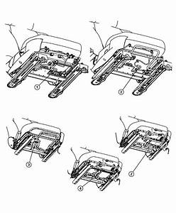 Dodge Ram 1500 Harness  Wiring  Heated Seat  Seat Wiring