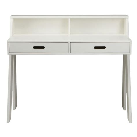 bureau pin massif blanc bureau junior en pin massif blanc 2 tiroir max fabrication