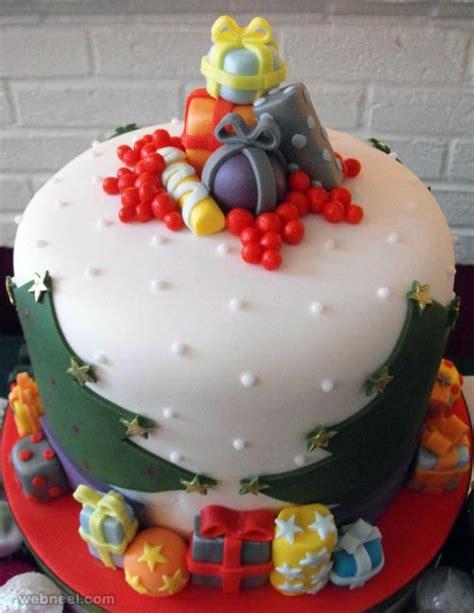 25 beautiful christmas cake decoration ideas and design