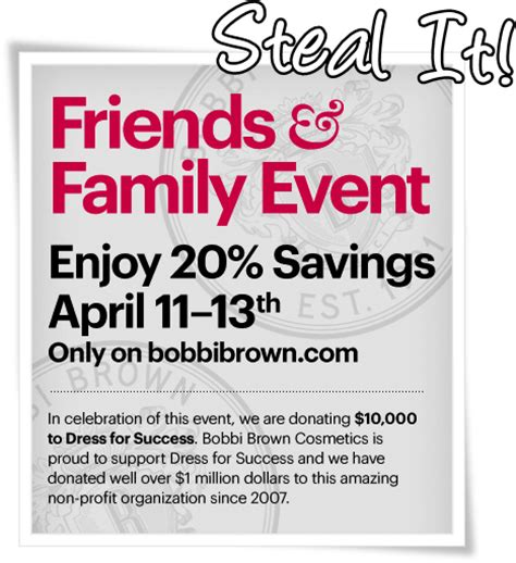 81652 Bbby Coupon by Brown Friends And Family Event 20 Musings Of