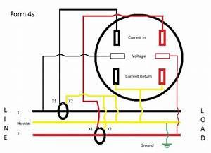 Form 4s Meter Wiring Diagram