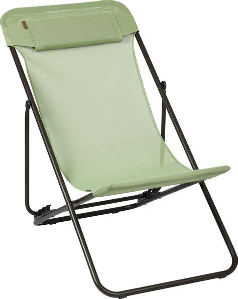 toile chaise longue toile de rechange pour chaise longue transaluxe vert