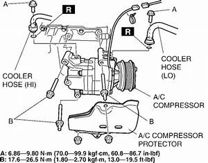 repair guides compressor removal installation With which of the four wires on a 2006 mazda 3 ac pressure switch