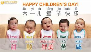 Yoyo Chinese — I just want to say Happy Children's Day ...