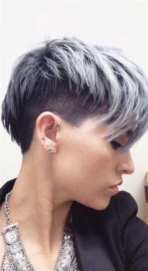 Pixie Hairstyles For Gray Hair by 20 Pixie Haircut For Gray Hair Pixie Cut 2015
