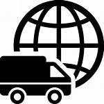 Icon Delivery Truck Logistics International Symbol Svg