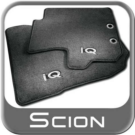 Scion Tc Floor Mats 2012 by 2012 2015 Scion Iq Carpeted Floor Mats Black