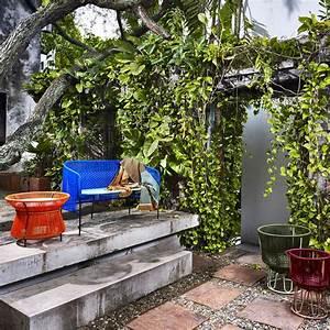 Habiller Un Mur : d corer un mur ext rieur de terrasse toutes nos id es ~ Melissatoandfro.com Idées de Décoration