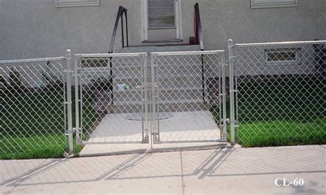 6 Foot Chain Link Fence Gate