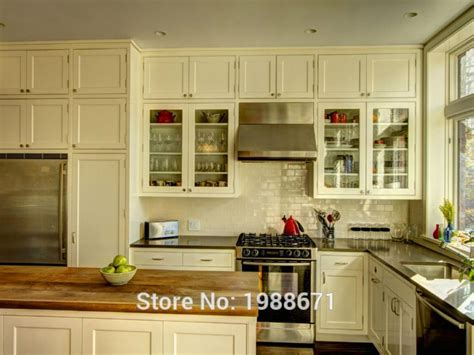 all kitchen cabinets 2016 all white oak wood rta kitchen cabinets in shaker 4014