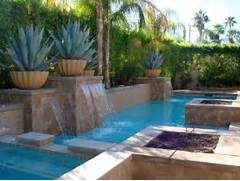 Waterfalls For Pools Inground For Geometric Pool For Small Space Swimming Pool Natural Looking Swimming Pool Designs With Waterfalls Piscina Com Cascata Revista Metropole Its Natural Surroundings For The Best Possible Backyard Environment