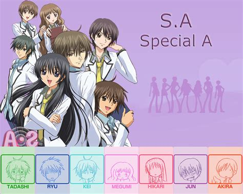 Special A Anime Wallpaper - moonlight summoner s anime sekai s a special a s a