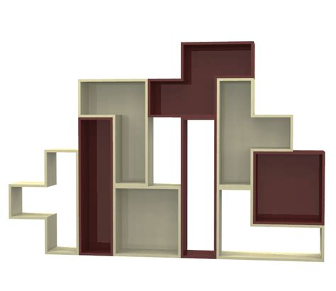 vendita scaffali on line scaffale tetris laccato negozio mybricoshop