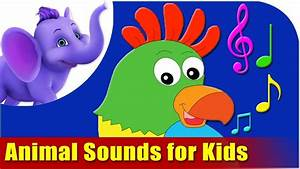 Animal Sounds for Kids! - YouTube