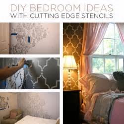 Diy Bedroom Ideas Diy Bedroom Ideas With Cutting Edge Stencils Stencil Stories