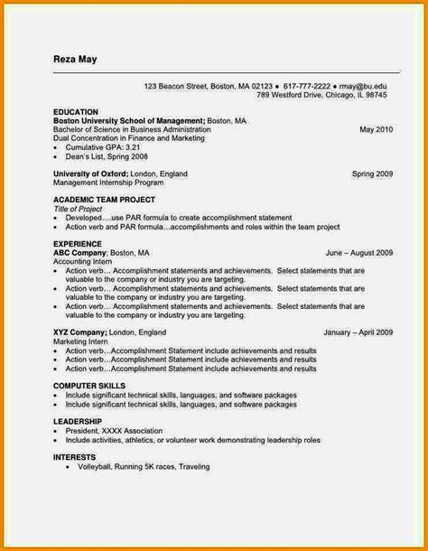 current cv format  nigeria nairaland resume