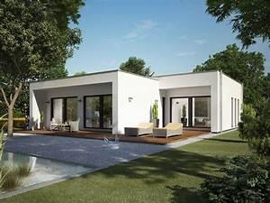 Häuser Im Bauhausstil : hausentwurf bungalow im bauhausstil okal haus ~ Watch28wear.com Haus und Dekorationen