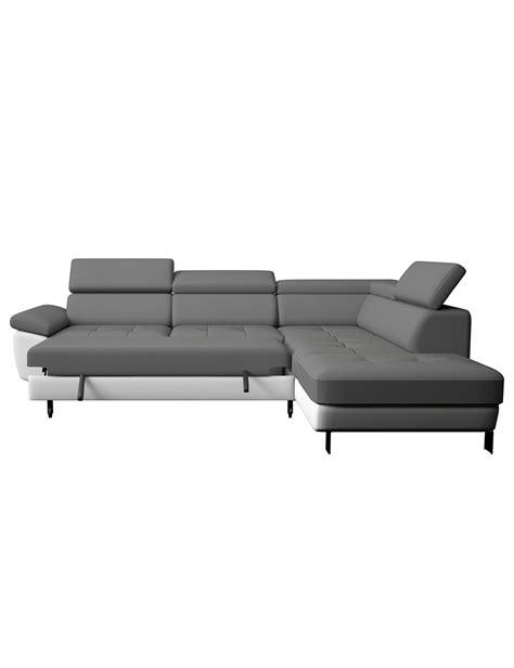 transport canapé canapé d 39 angle kate gris blanc