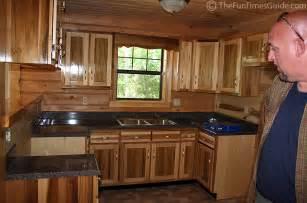 log home kitchen cabinets kitchen design photos