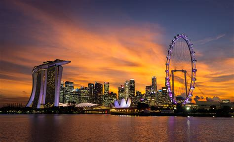 singapore sunset danandhollycom