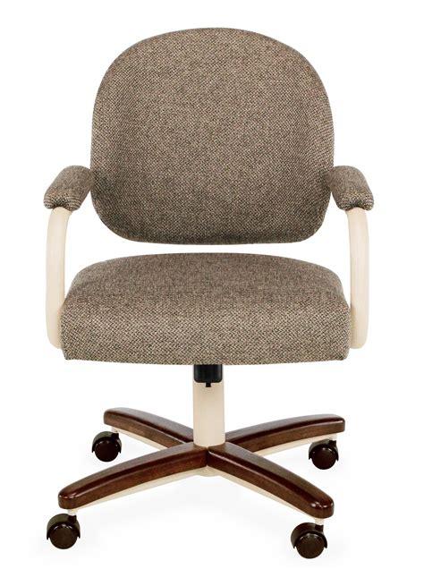 chromcraft c363 935 swivel tilt caster dinette chair