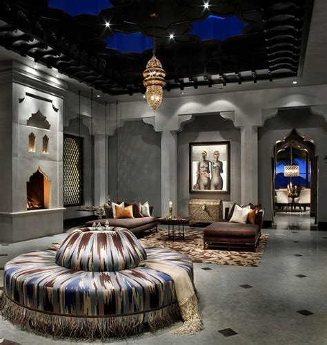 spectacural moroccan style house  la decoholic
