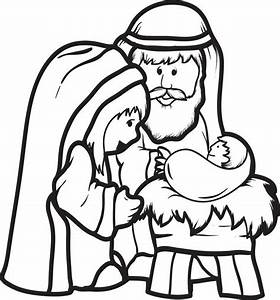 Baby Jesus In A Manger Coloring Pages Gallery Latest
