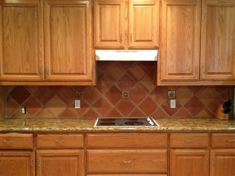 mexican kitchen tile mexican tile backsplash square saltillo tile in 4113
