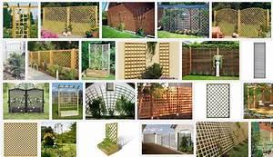 Freistehendes Spalier Bauen : rankgitter f r kletterrosen rankgitter und sichtschutzelemente mit bambusst ben selber ~ Somuchworld.com Haus und Dekorationen