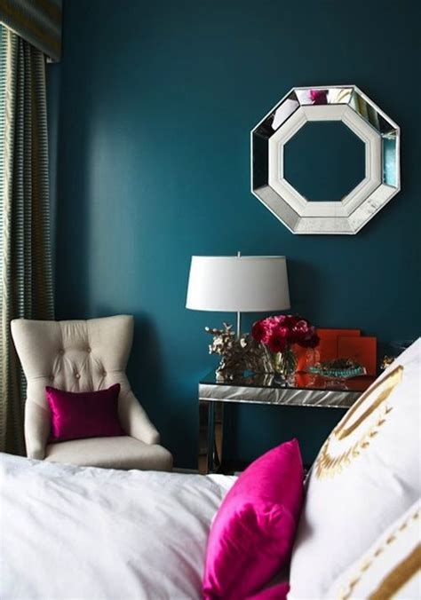 Bedroom Color Schemes With Teal by 25 Best Ideas About Fuschia Bedroom On