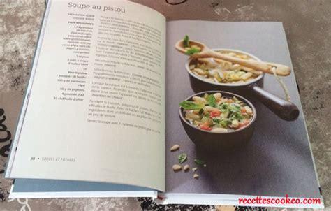 cuisiner au blender livre recettes cookeo larousse