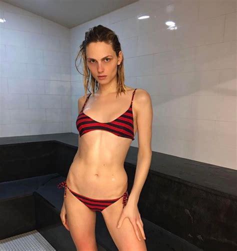 Transgender model Andreja Pejic showcases bikini body ...