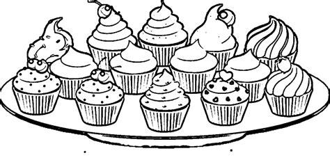 Unicorn Cupcake Kleurplaat by Cupcake Coloring Pages Birthday Cupcake Coloring Pages