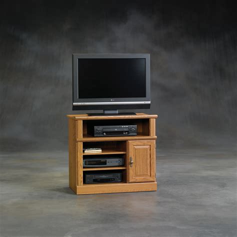 small tv cabinet with doors tall tv stands light brown varnished oak wood media stand