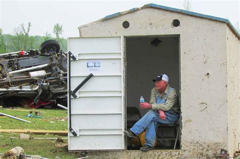 Above Ground Tornado Storm Shelters