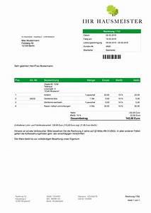 Rechnung Schweiz Lieferung Deutschland : hausmeister faktura software rechnungsprogramm angebot ~ Themetempest.com Abrechnung