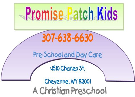 promise patch pre school cheyenne wy child care center 116 | logo Promise Patch