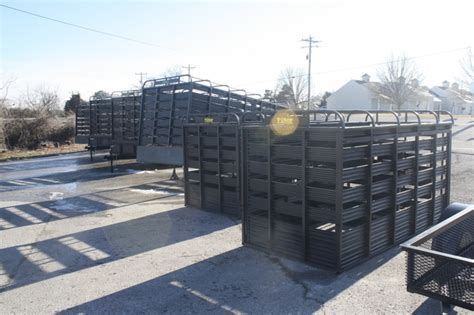 Boat Auctions In Ct by Used 2015 Slide In Cattle Racks For A Utility Trailer