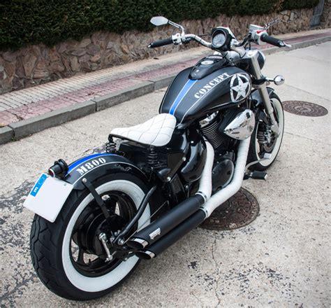 2008 Suzuki Boulevard M50 by Suzuki Boulevard M50 800 Blue Collar Bobbers