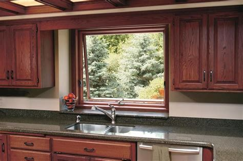 window above kitchen sink awning window above the kitchen sink made possible by