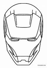 Iron Coloring Pages Face Mask Sketch Drawing Easy Printable Lego Marvel Cool2bkids Clipartmag Paintingvalley Paper sketch template