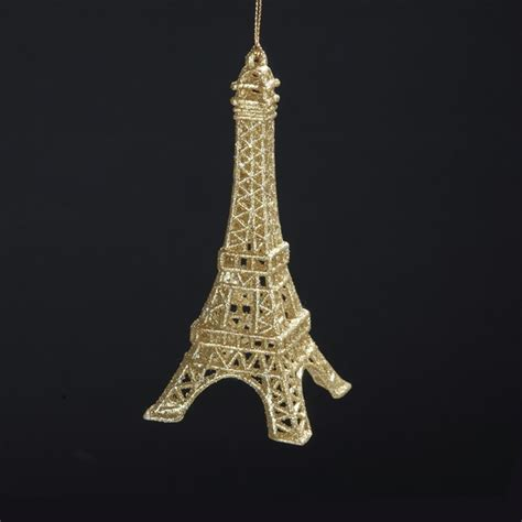 french eiffel tower acrylic christmas ornament t1332 paris