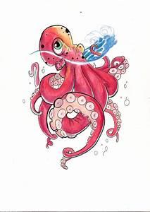 Octopus tattoo design by Willx03 on DeviantArt