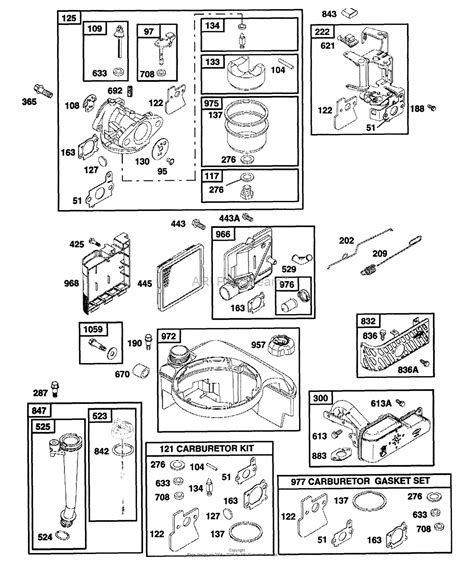 briggs and stratton power products 1433 2 580 768332 2 400 psi craftsman parts diagram for