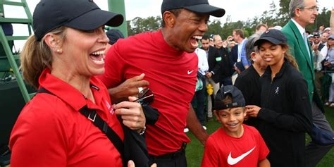 Tiger Woods and his son, Charlie, have similar swings and ...