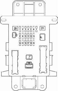 Toyota Rav4 Fuse Box Diagram  2000